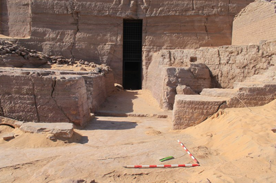 Entrada a la tumba de Herkhuf