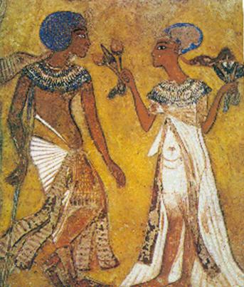 Pintura del periodo de Amarna