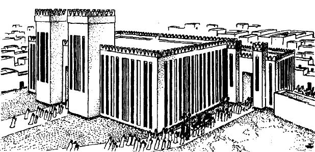 Reconstrucción del templo de Ishtar en Assur