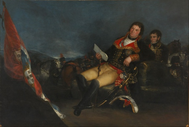 Retrato de Manuel Godoy hecho por Francisco de Goya