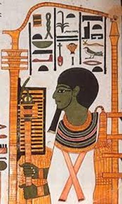 Representación del Dios Ptah