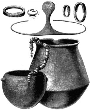 Ajuar funerario de la cultura del Argar