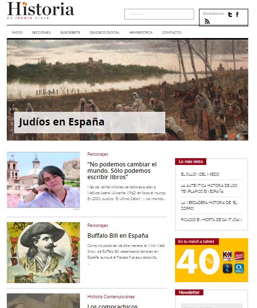 Captura de pantalla general de esta gran web
