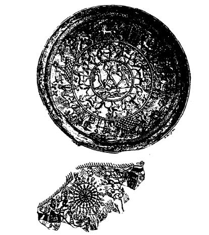 Dibujos basados en piezas reales de artesanía fenicia halladas en yacimientos arqueológicos
