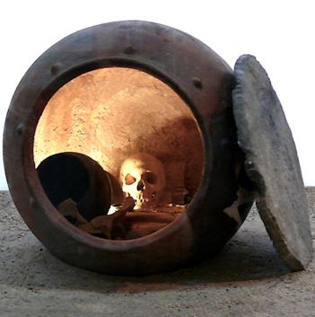 Ejemplo de otro tipo de enterramiento argárico