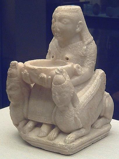 La Dama de Galera, figurilla fenicia del siglo VII a.C. hallada en la península Ibérica