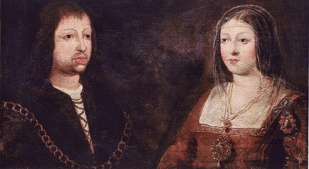 Retrato de Fernando de Aragón e Isabel de Castilla, los Reyes Católicos