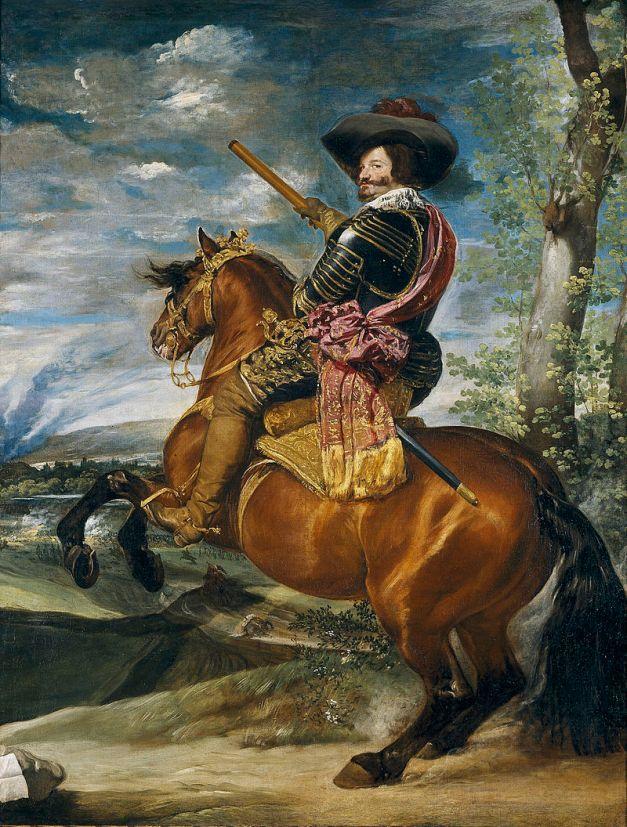 Retrato del Conde Duque de Olivares hecho por Velázquez
