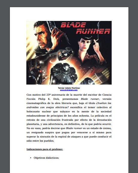 Captura de pantalla de uno de los archivos pdf de críticas de cine