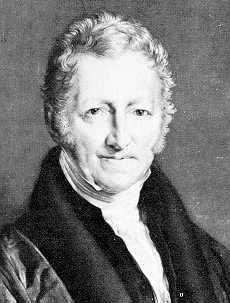 El demógrafo y economista Thomas Robert Malthus