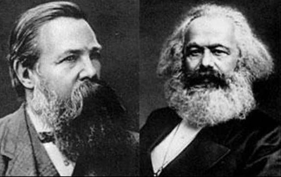 Friedrich Engels y Karl Marx