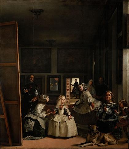 Ilustración 1 - Diego Velázquez, Las Meninas