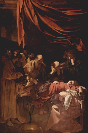Ilustración 2 - Michelangelo Merisi da Caravaggio - La muerte de la virgen (1601 – 1606)