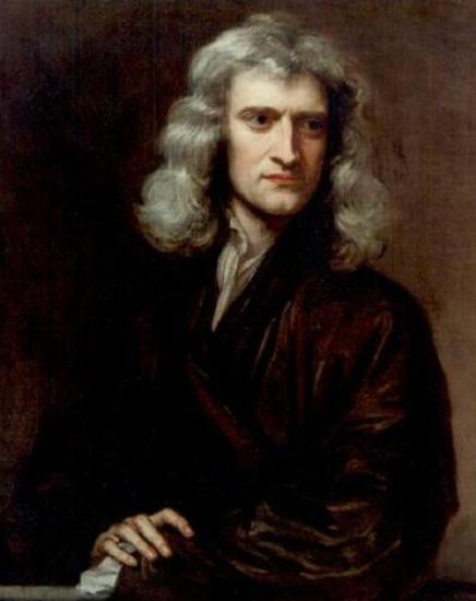 Ilustración 6 - Isaac Newton en 1689 por Godfrey Kneller