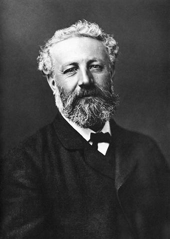 Retrato de Jules Verne hecho en 1878 por Félix Nadar
