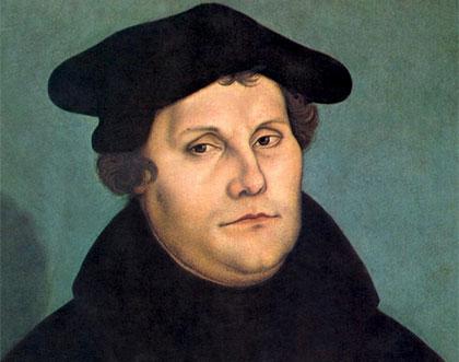 Retrato de Martin Lutero