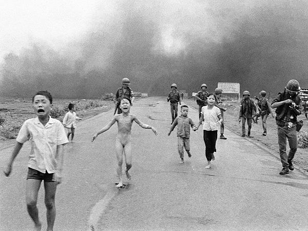 Una de las fotografías más famosas de la Guerra de Vietnam