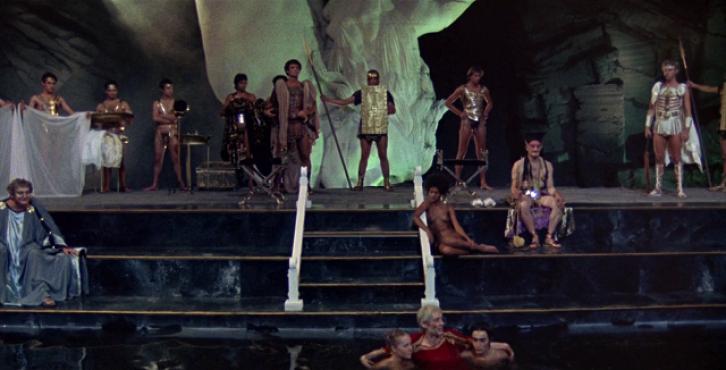 """Uno de los fotogramas de la película """"Calígula"""""""