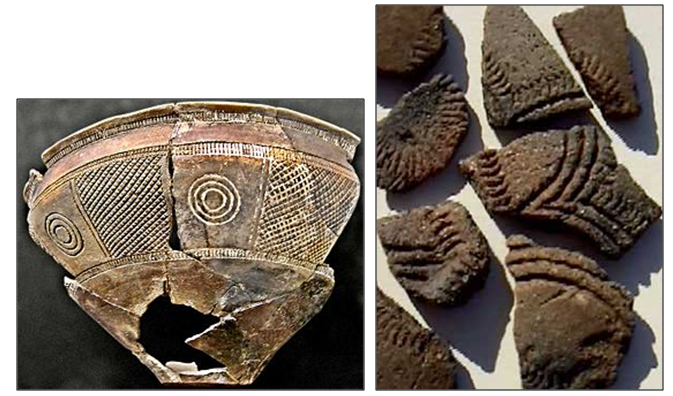 Ejemplos de cerámica de boquique