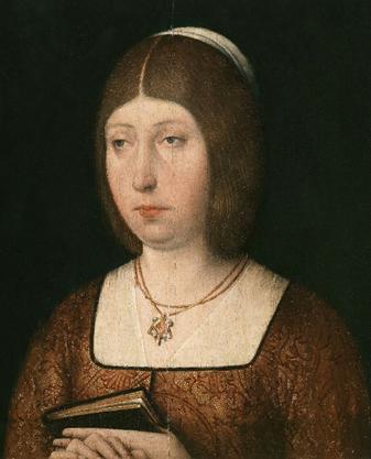 Ilustración 3 Isabel la Católica, de autor anónimo (c. 1490).