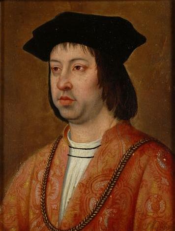 Ilustración 4 Retrato de Fernando el Católico por Michel Sittow (hacia 1469-1525)
