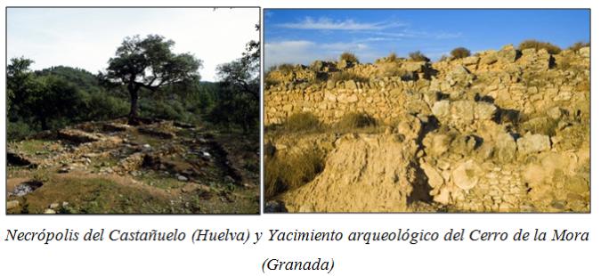 Necrópolis del Castañuelo y yacimiento arqueológico del Cerro de la Mora