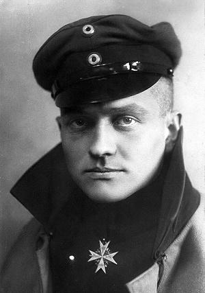 El verdadero Manfred von Richthofen, el Barón Rojo
