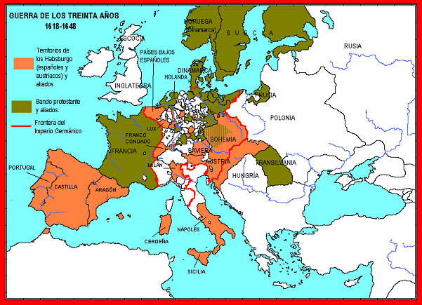 Ilustración 3 La guerra de los treinta años