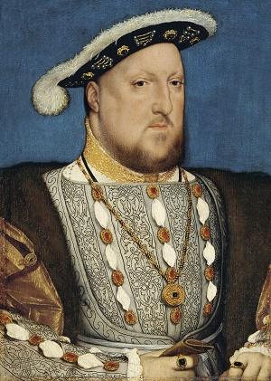 Retrato de Enrique VIII de Inglaterra en 1537
