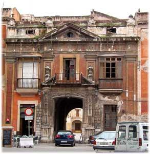 Fachada de la Casa de la Moneda en la actualidad