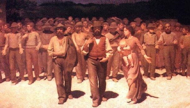 Famosa imagen representativa del movimiento obrero