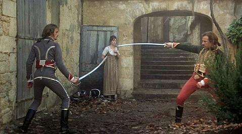 Fotograma de Los duelistas, primera película de Ridley Scott