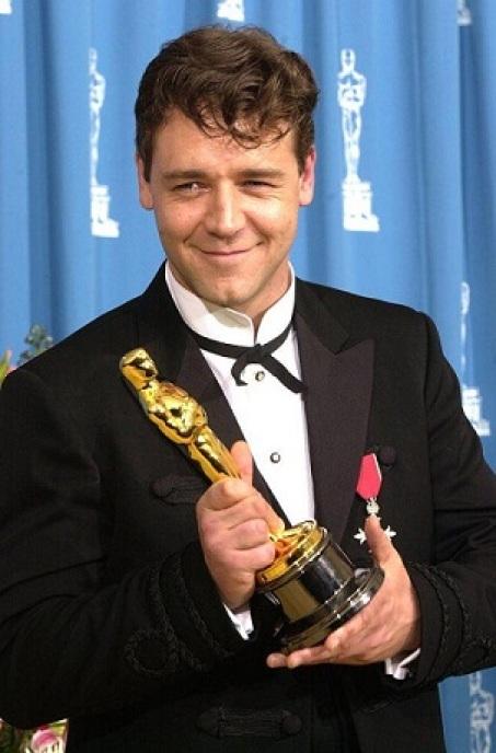 Russell Crowe ganó el Óscar por la película