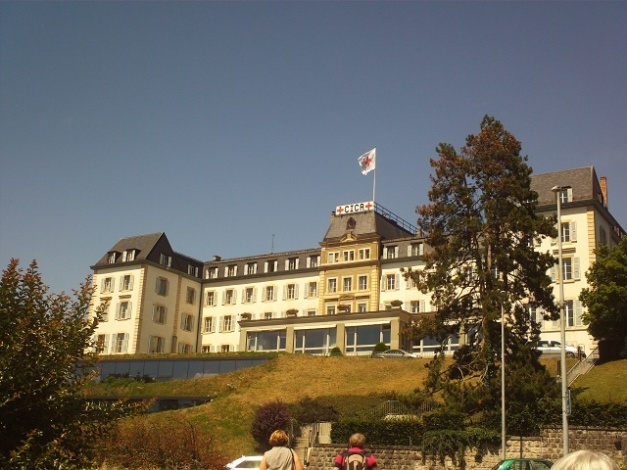 Sede de la Cruz Roja en Ginebra