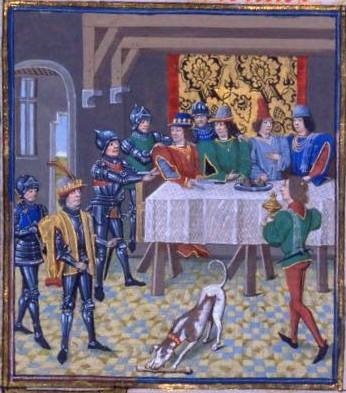 Arresto de Carlos el Malo el Día de Pascua de 1356