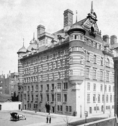 Edificio antiguo de Scotland Yard