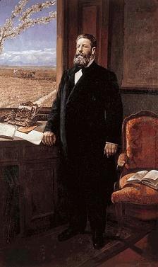 Retrato de Joaquín Costa, máximo exponente del regeneracionismo