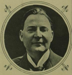 Retrato enmarcado de la figura de Charles Masterman