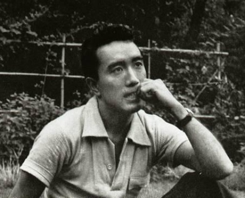 Yukio Mishima en los años 50