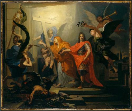Alegoría de la Paz de Utrecht, de Antoine Rivalz