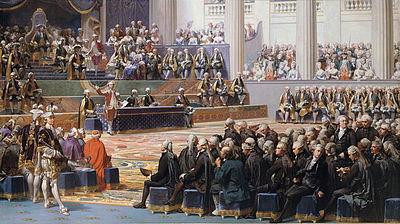 Cuadro que representa la apertura de los Estados Generales