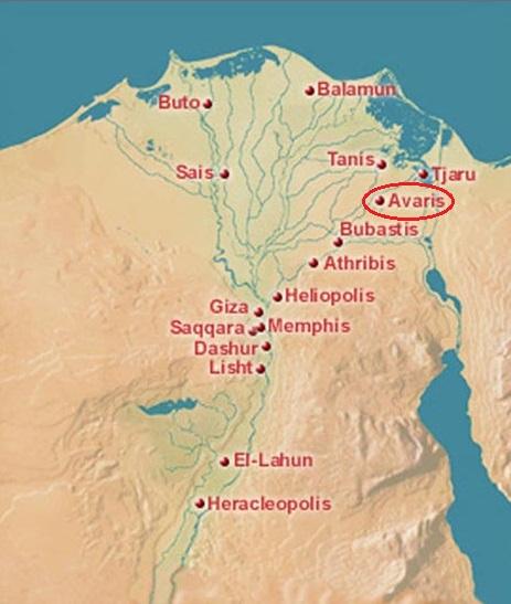 Localización de Pi-Ramsés