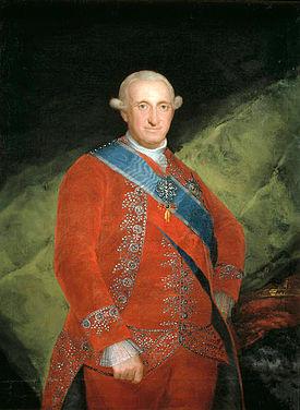El rey Carlos IV de España (1788-1808)
