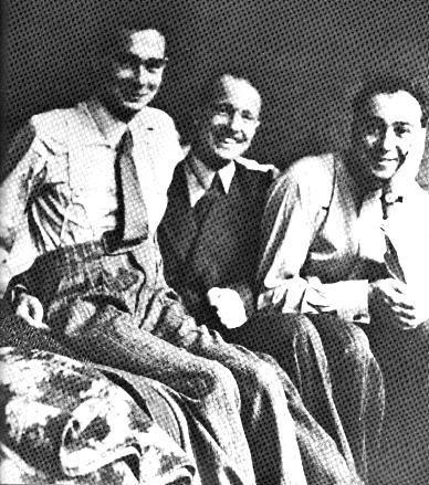 Eric Williams, Michael Codner y Oliver Philpot