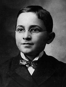 Harry Truman a la edad de 13 años