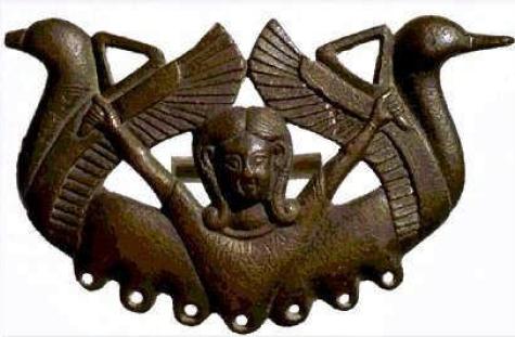 Pieza de bronce de Tartessos