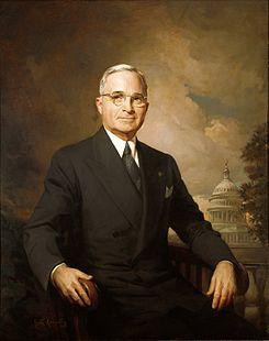 Retrato presidencial de Harry Truman