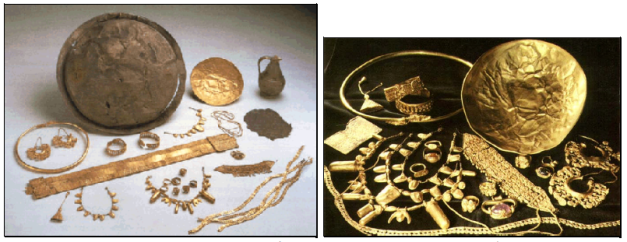 Tesoro de Aliseda, un ajuar funerario de Tartessos
