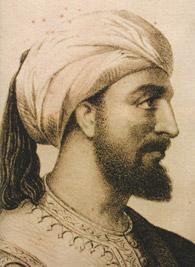Un grabado del siglo XIX de Abderramán III