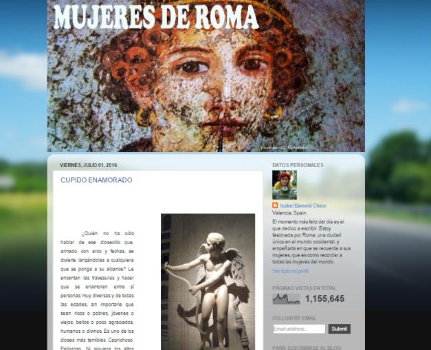Captura de pantalla de este gran blog